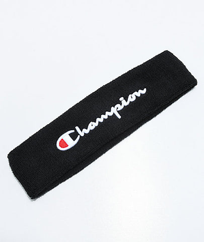 Champion Terry Headband- Black