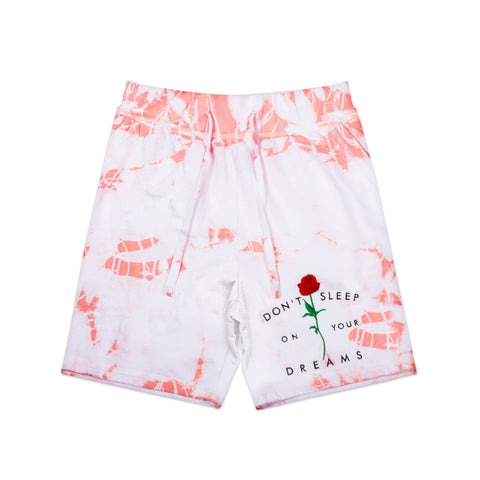 Don't Sleep Pink Crystal Shorts