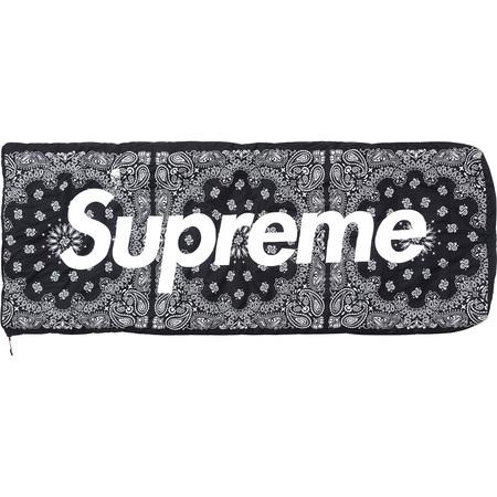 Supreme/TNF Sleeping Bag- Black