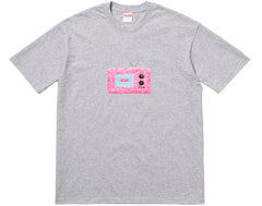 Supreme TV Tee- Heather Grey
