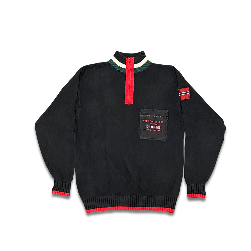 Vintage Tommy Hilfiger Knit Half Zip Sweater