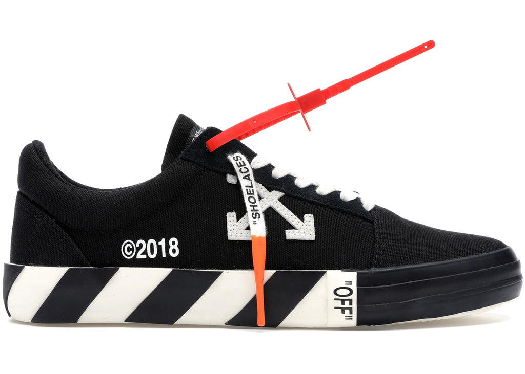 Off-White Vulc Low-  Black 44