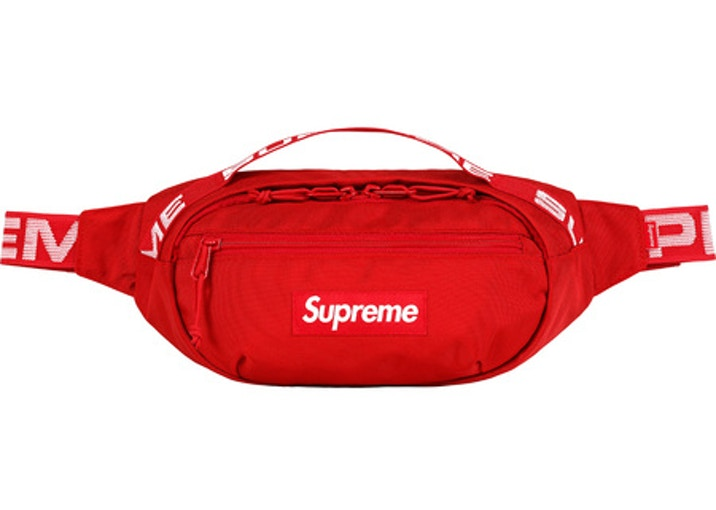 Supreme Waist Bag (SS18)- Red