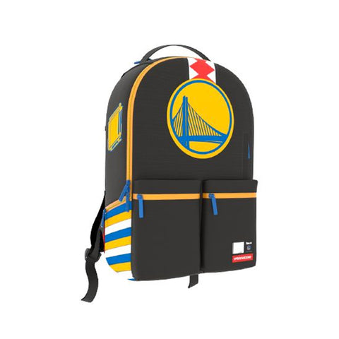 NBA Lab WARRIORS DOUBLE CARGO Backpack