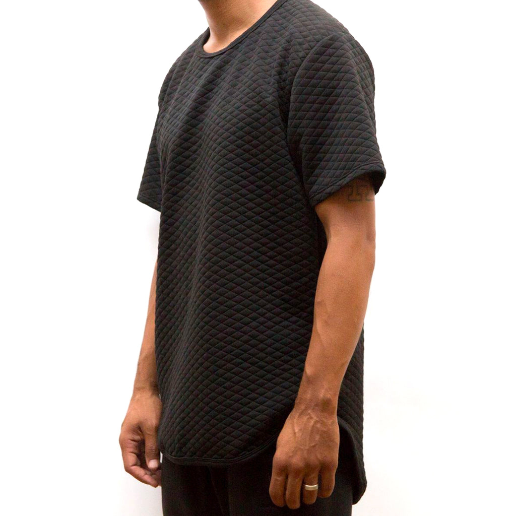 Quilted Scallop Tee
