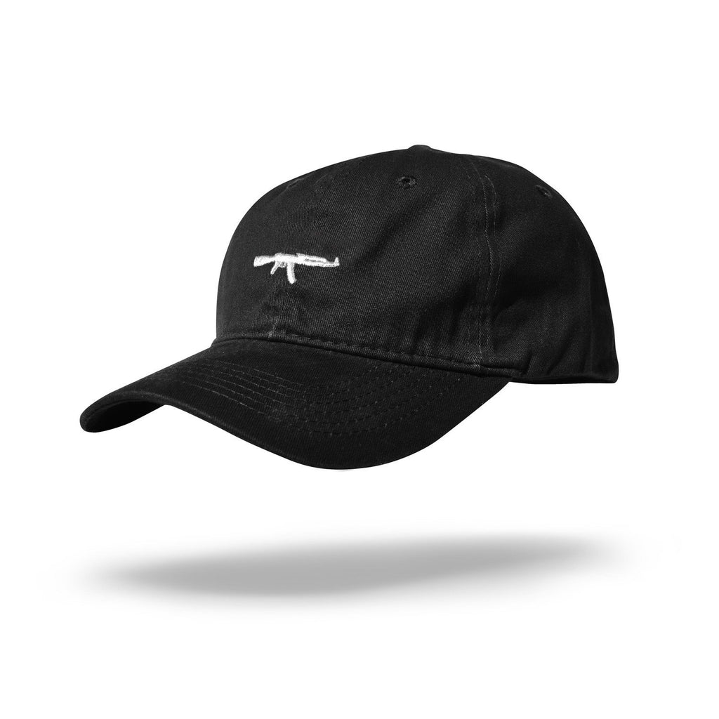 AK Dad Hat Black/White