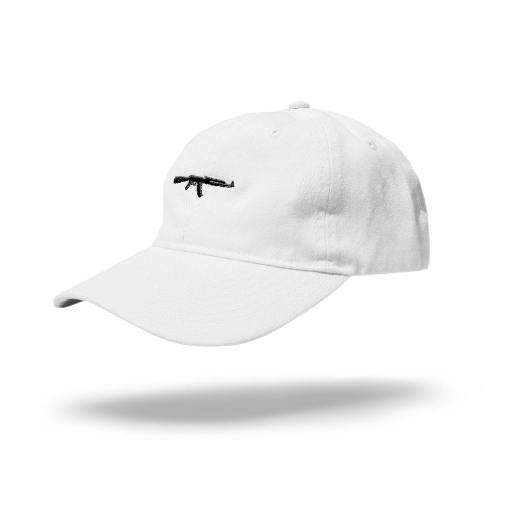 AK dad hat White/Black