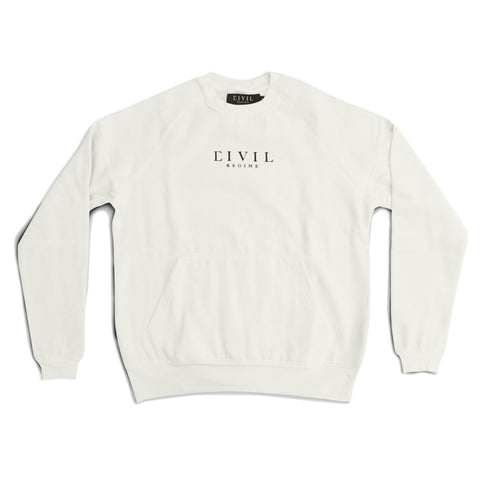 TYSON FLEECE RAGLAN CREWNECK