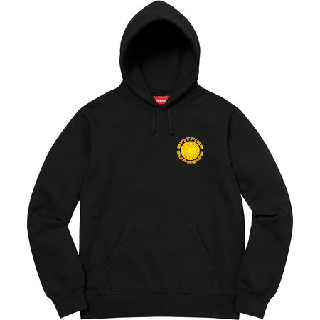Supreme/Spitfire Hooded Sweatshirt- Black