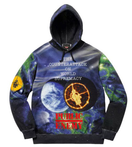 Supreme UNDERCOVER/Public Enemy Hooded Sweatshirt- Multi
