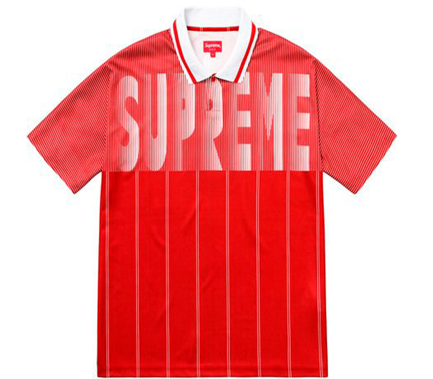 Supreme Soccer Polo- Red