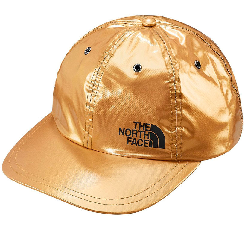 Supreme The North Face Metallic 6-Panel- Gold
