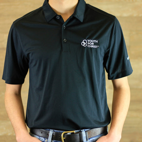 YFC Nike Dri-FIT Polo - Youth for Christ black