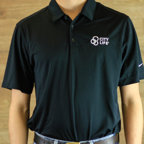 City Life Nike DriFit Polo