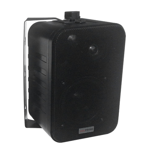 "4"" Full Range 3-way Single Tap Indoor Mini Cabinet Speaker – 70V"