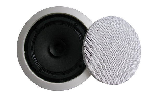 "6"" Full Range Multitap Ceiling Speaker – 70V/25V"