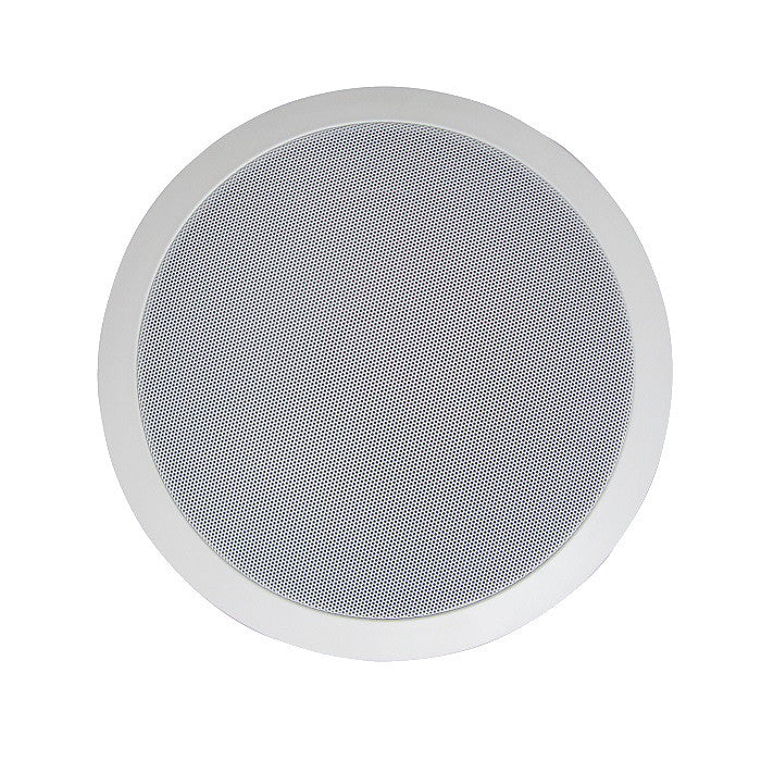"8"" Full Range Multitap Ceiling Speaker – 70V/25V"