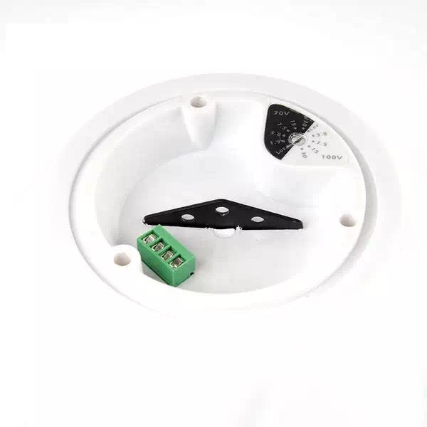 "6.5"" Full Range 2-way Multitap Indoor Pendant Speaker – 70V – 40W"