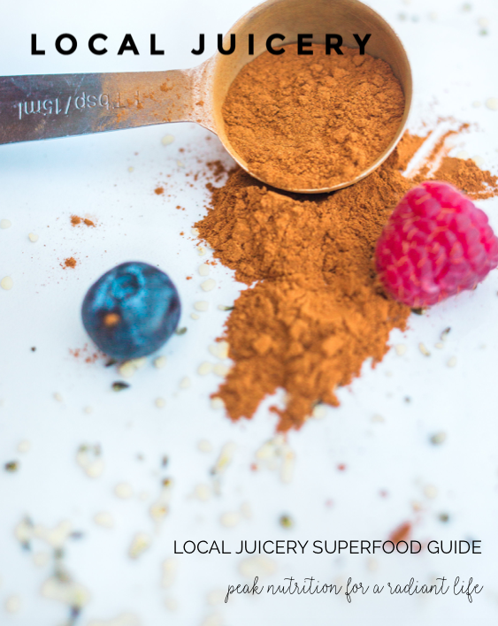 Local Juicery Superfood Bible