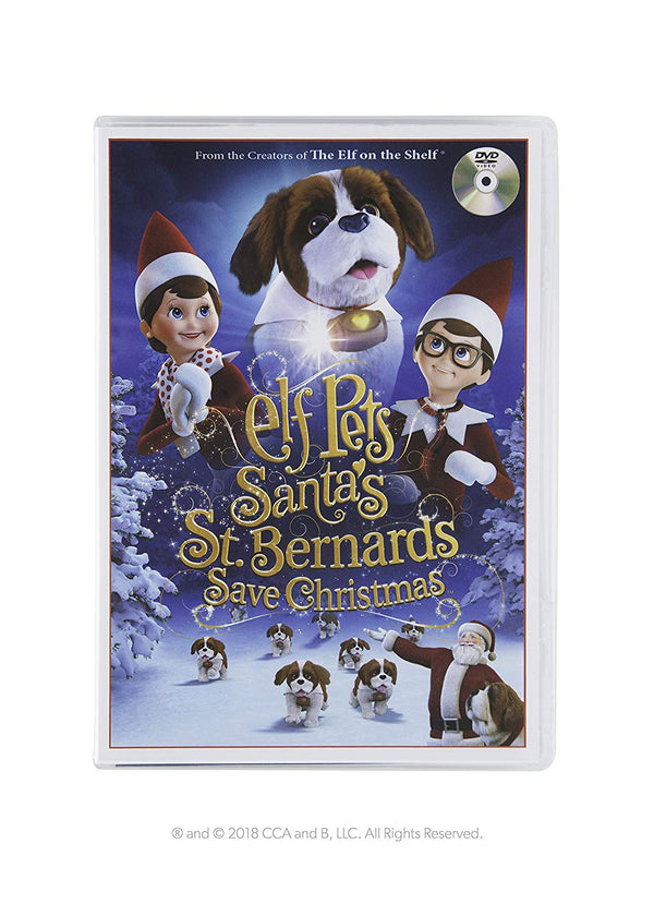 The Elf on the Shelf Santa's St Bernards Save Christmas