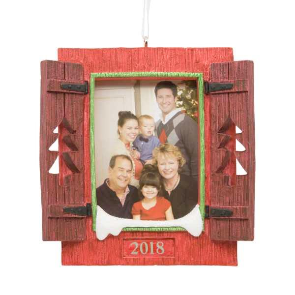 Hallmark Shutters Photo Holder Dated Ornament