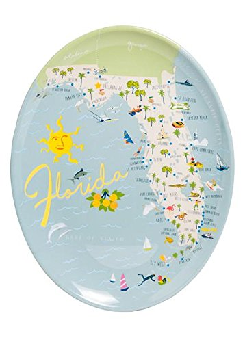 Galleyware Florida Melamine Oval Platter