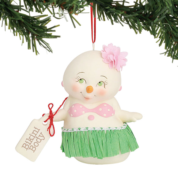Department 56  Department 56 Snowpinions Bikini Body Hanging Ornament 3""