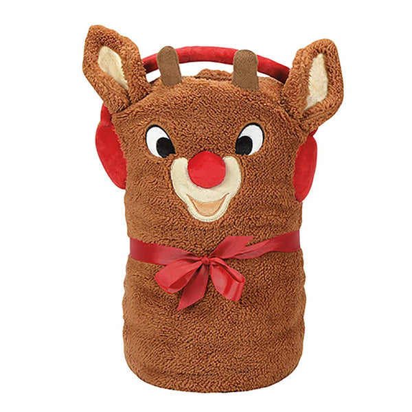 Department 56 Rudolph Snow Throw Blanket Standard