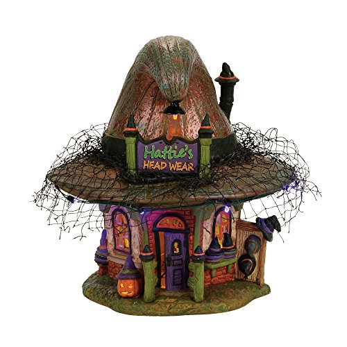 Department 56 Halvl Hattie'S Hat Shop Lit_house
