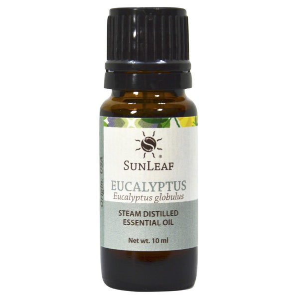 SunLeaf Naturals Essential Oil Single-Notes, Eucalyptus, 10ml