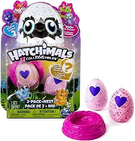 Hatchimals CollEGGtibles 2-pack+Nest Season 2 -Find the Golden Hatchimal