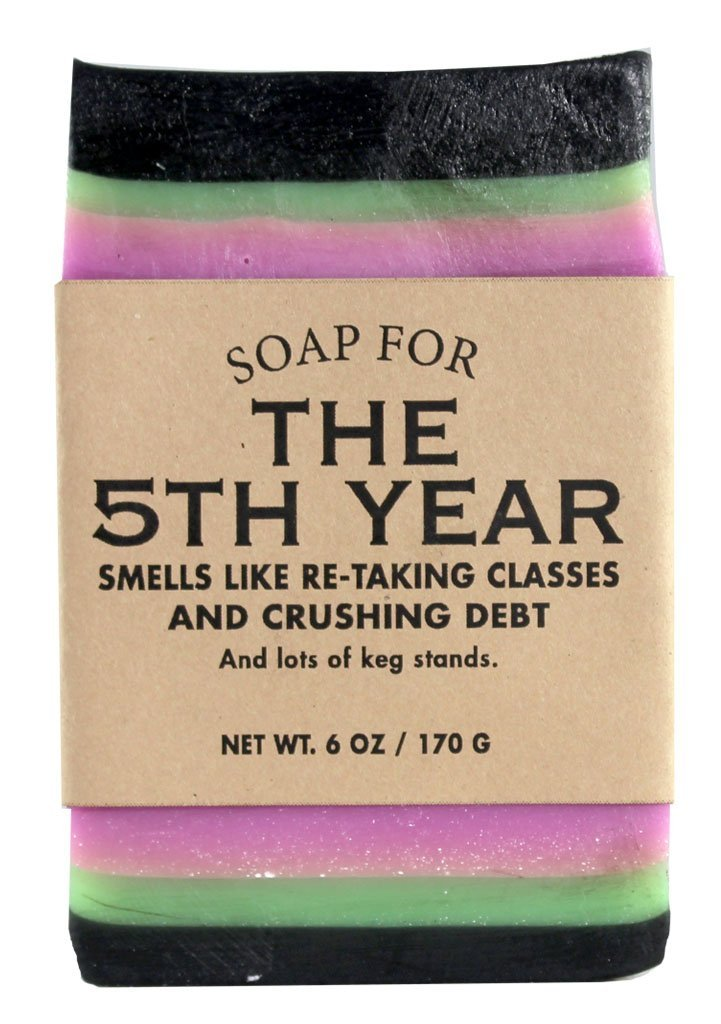 Whiskey River Soap Co. - Soap for The 5th Year, 6 oz, Pseudo-Craft Beer Scented
