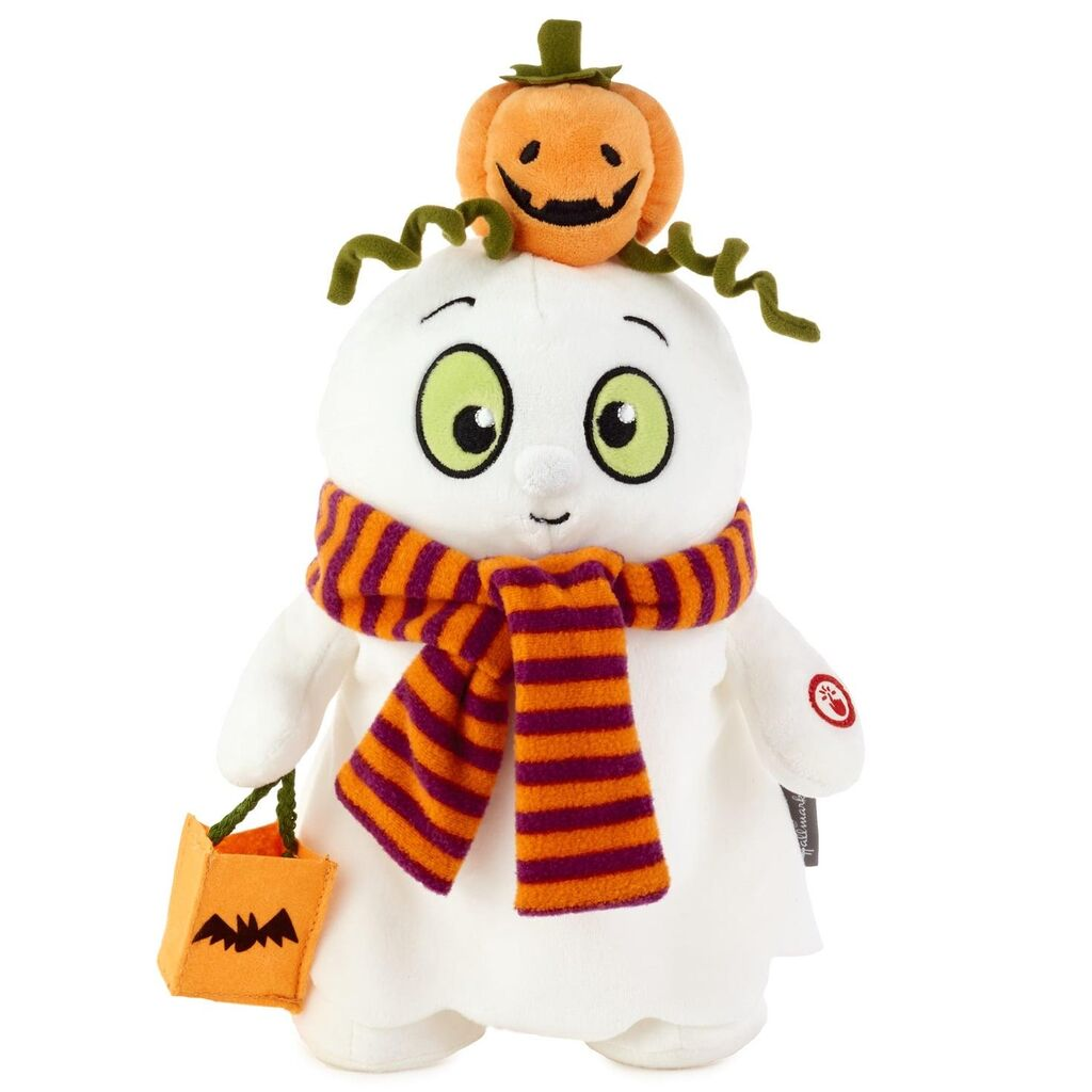 Hallmark Musical Trick 'n' Treat Ghost Stuffed Animal With Motion, 12.75""