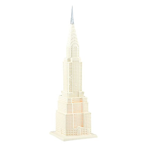 Department 56 Spotlights on Village Chrysler Building Figurine