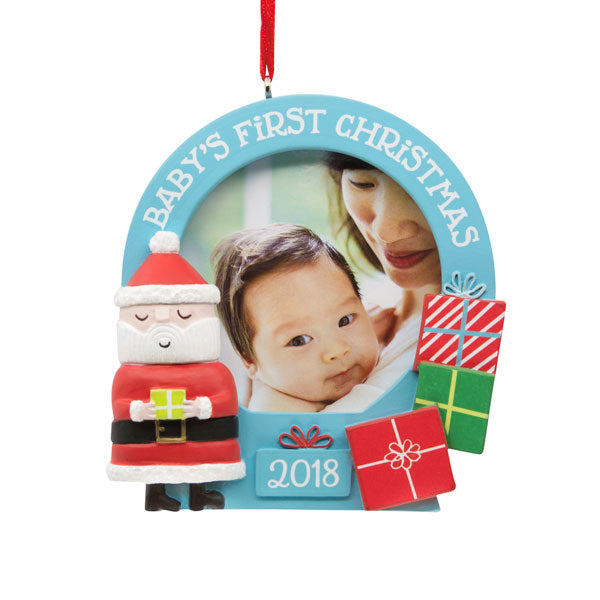 Hallmark Santa Photo Holder Dated Ornament