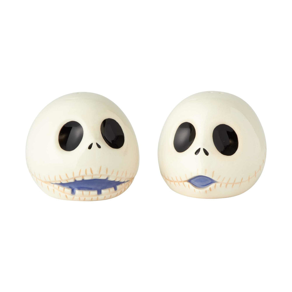 Enesco Disney Nightmare Before Christmas Jack Ceramic Salt and Pepper Shakers, 2.5""