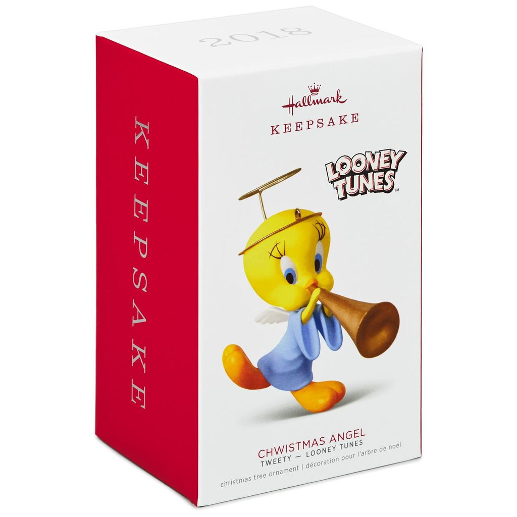 Hallmark Keepsake 2018 Looney Tunes™ Tweety™ Christmas Angel Ornament