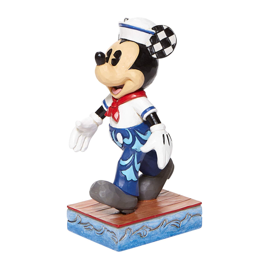 Jim Shore Disney Traditions 6008079 Mickey Sailor Personality Pose Figurine 5.25""