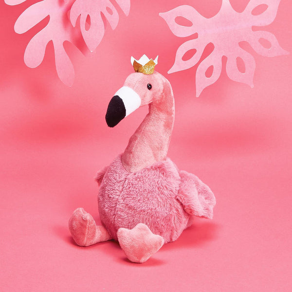 Cupcakes and cartwheels Plush Pink Flamingo with Speak - Repeat - Body Movement Functions in Gift Box