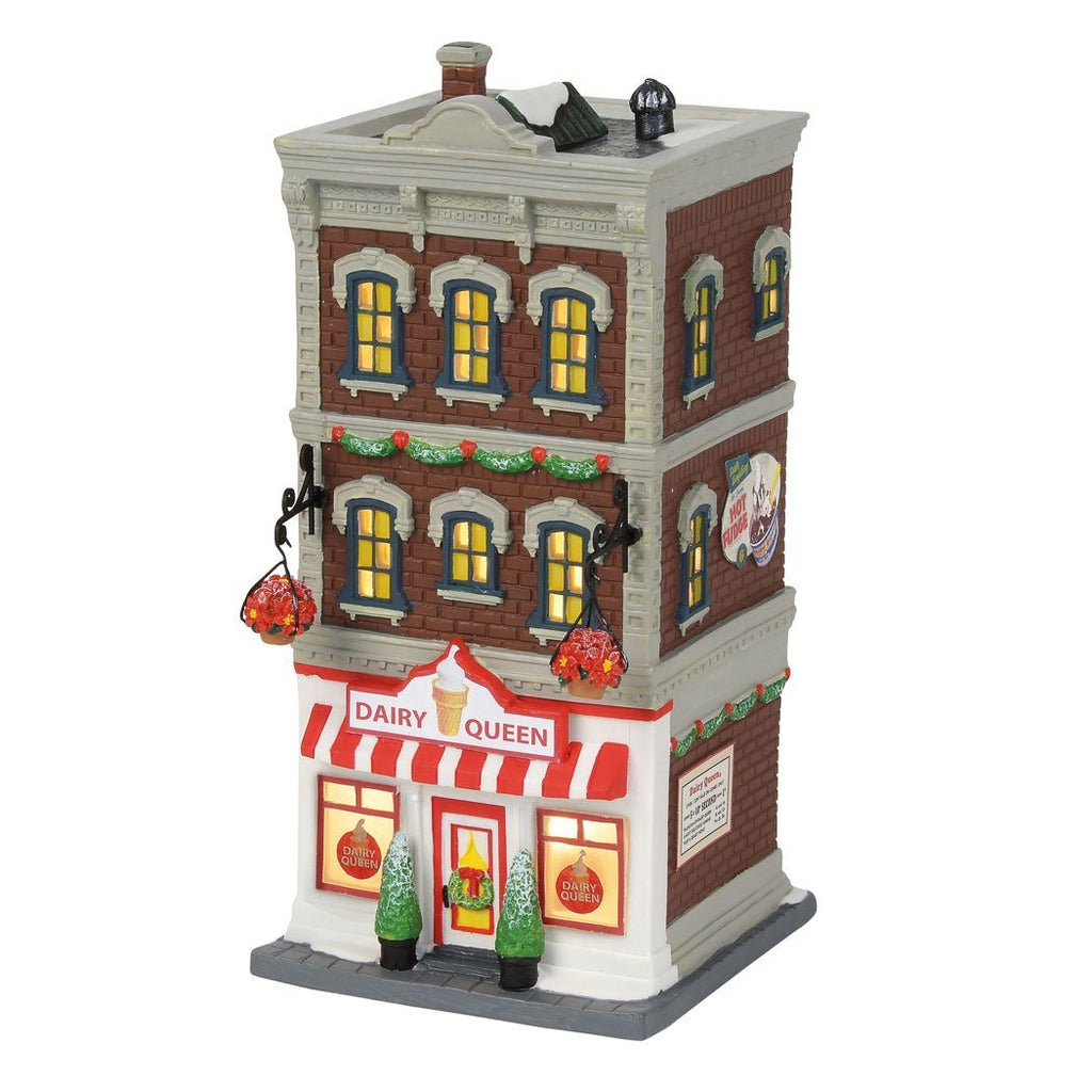 Department 56 Christmas in the City Downtown Dairy Queen