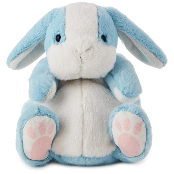 Hallmark Chubby Blue Bunny Stuffed Animal, 7.5""