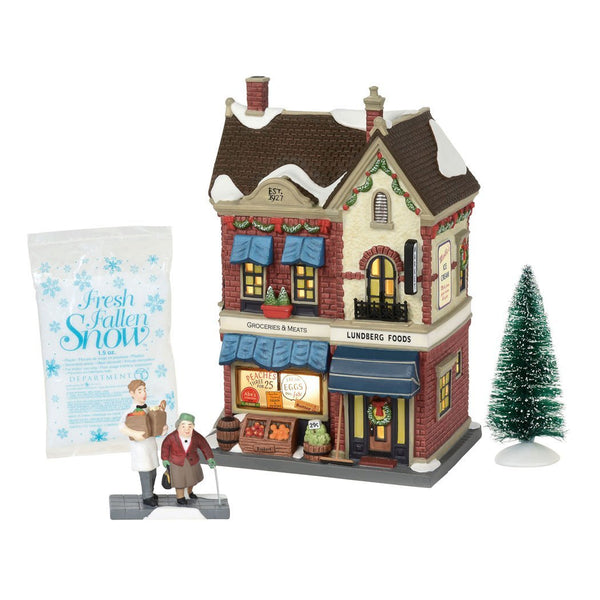Department 56 Christmas in the City Lundberg Foods
