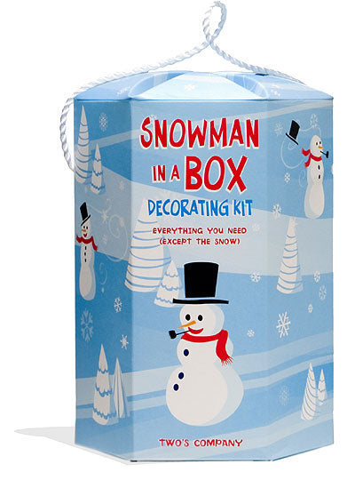 Cupcakes & Cartwheels Snowman in a Box Decorating Kit