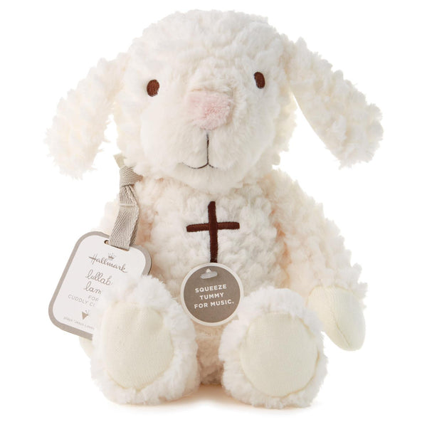 Hallmark Lullaby Lamb Interactive Stuffed Animal