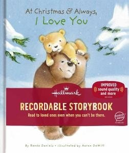 "Hallmark ""At Christmastime and Always, I Love You"" Recordable Storybook"