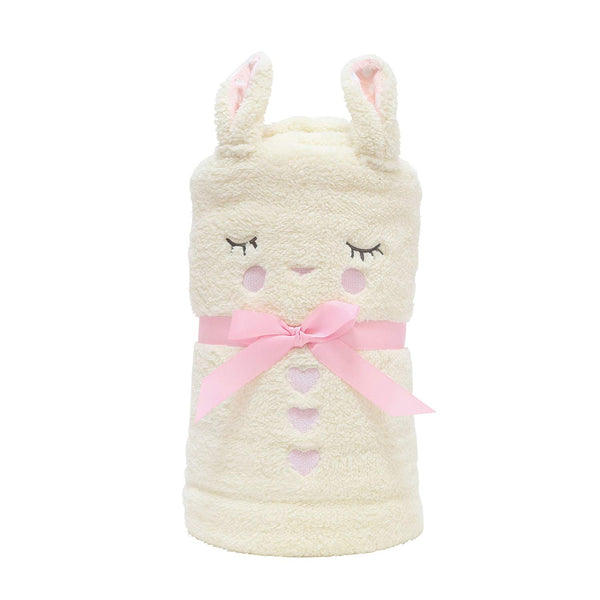 Department 56  Department 56 Snowpinions Bunny Snowthrow Plush Blanket