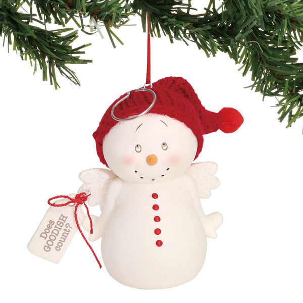 Department 56 Snowpinions Does Goodish Count Ornament, 3.375""