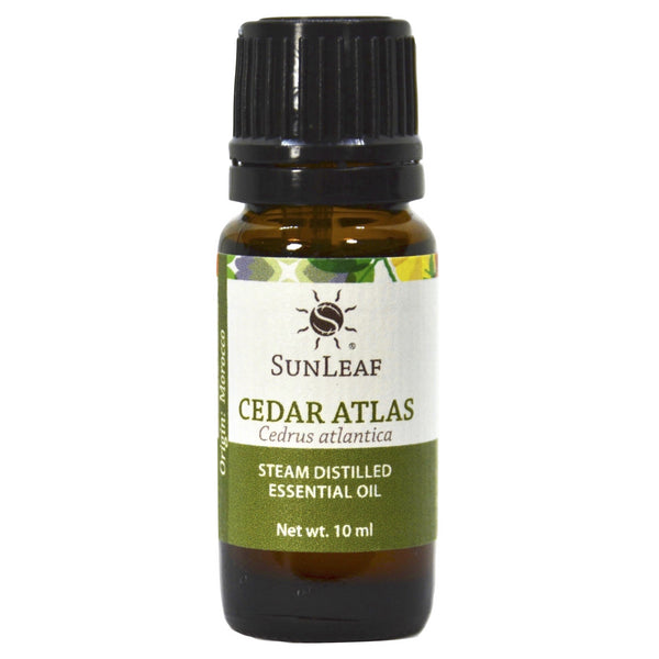 SunLeaf Naturals Essential Oil Single-Notes, Cedar Atlas, 10ml