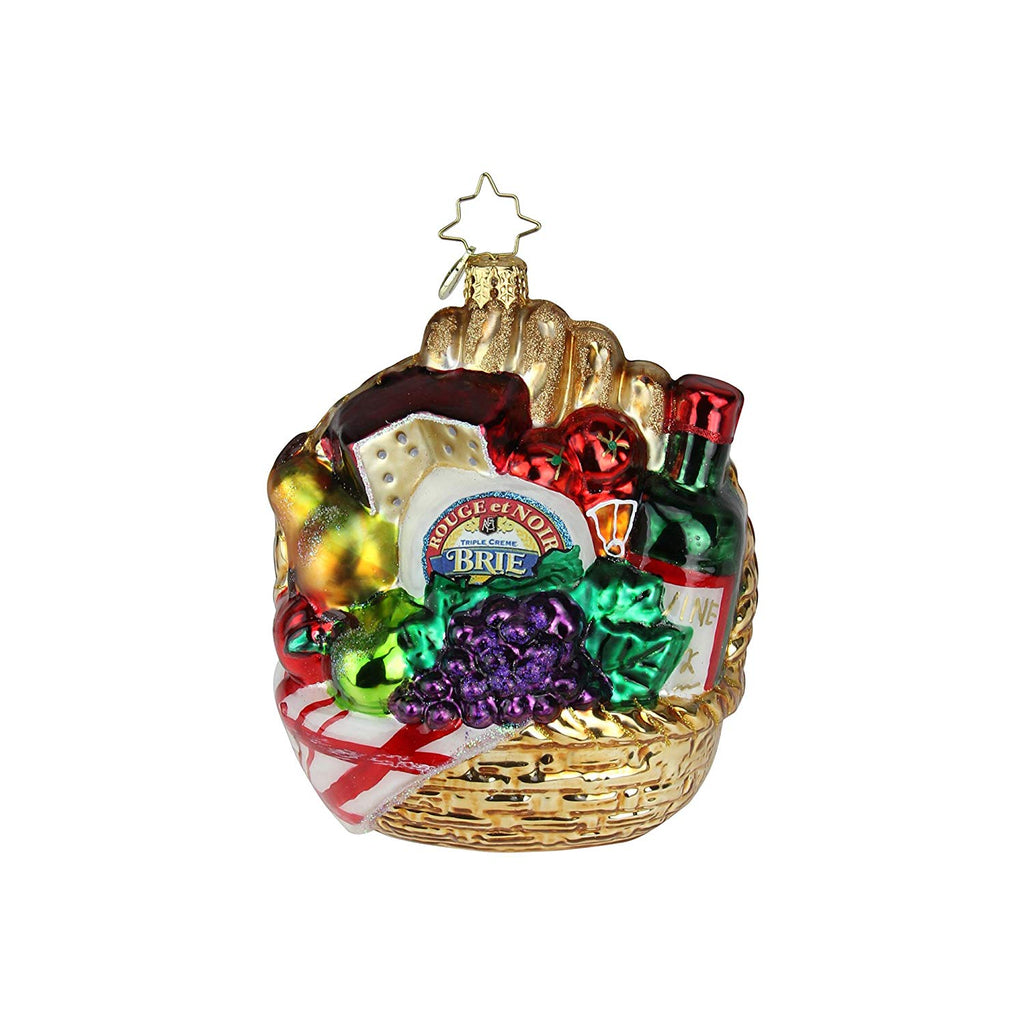 Christopher Radko Pick-Nick For Two! Christmas Ornament
