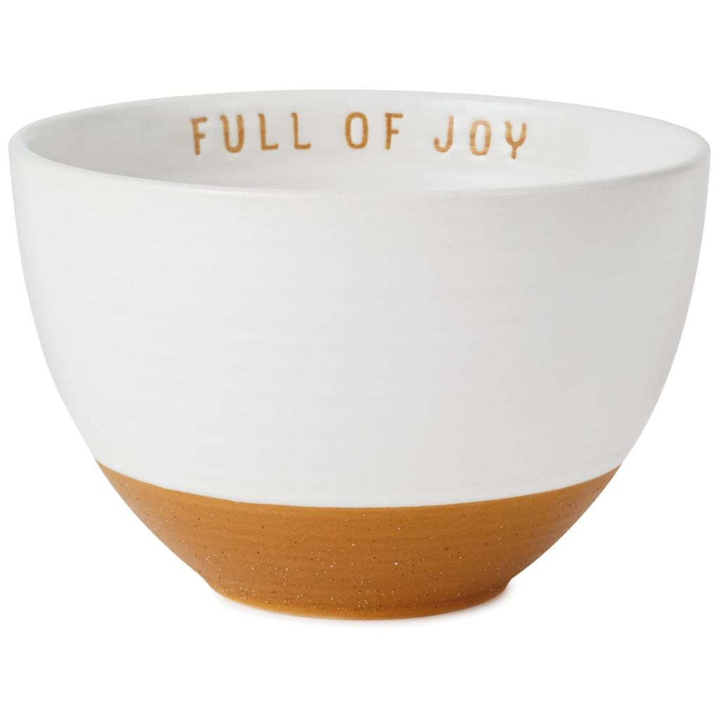 Hallmark  Full of Joy Stoneware Bowl